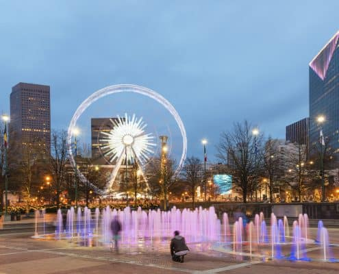 Living in Downtown Atlanta - Downtown Atlanta Condos For Sale - Downtown Atlanta Real Estate Agent - Centennial Olympic Park