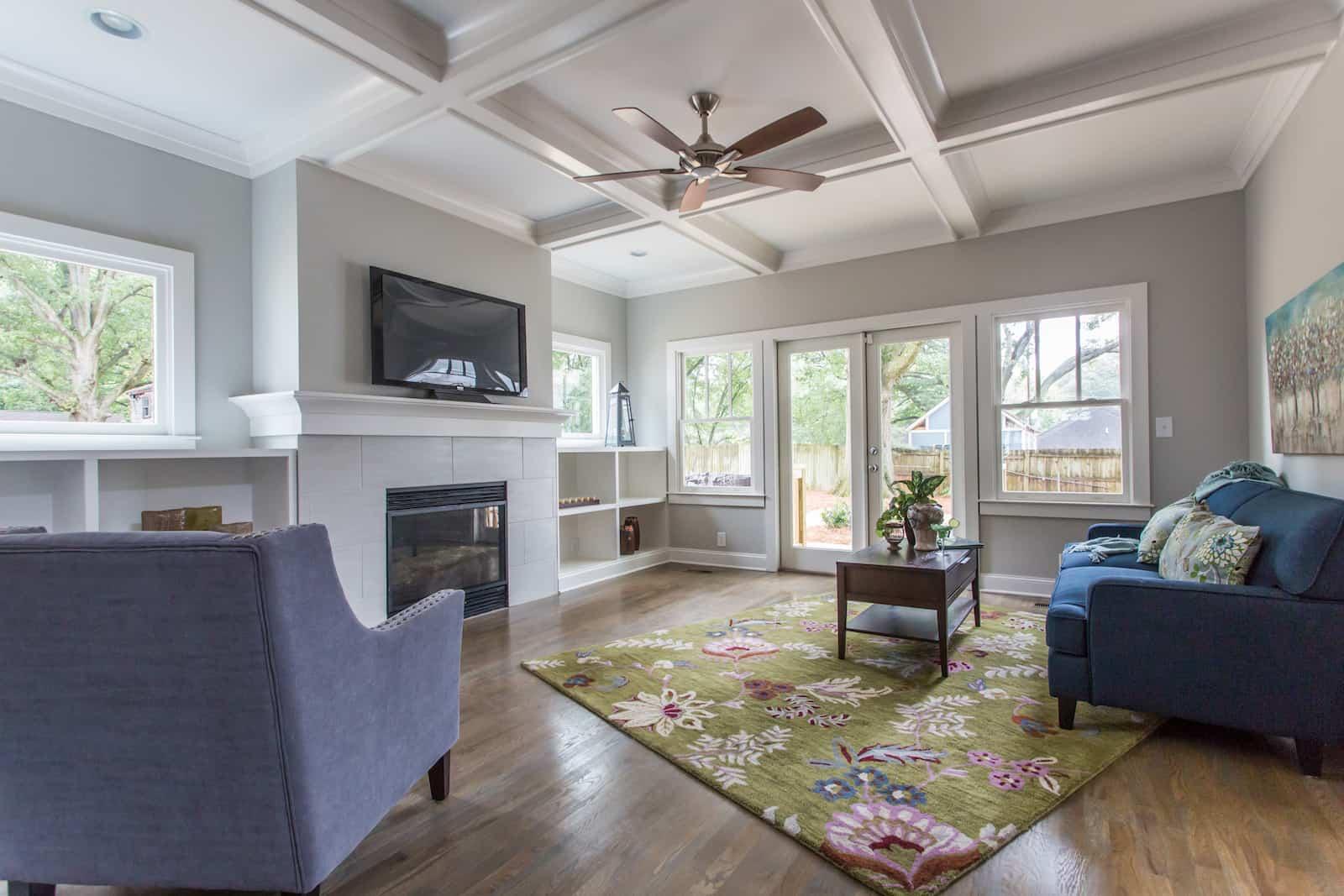 Beautiful East Atlanta Renovated Bungalow   1440 Newtown Atlanta,GA   Great Room