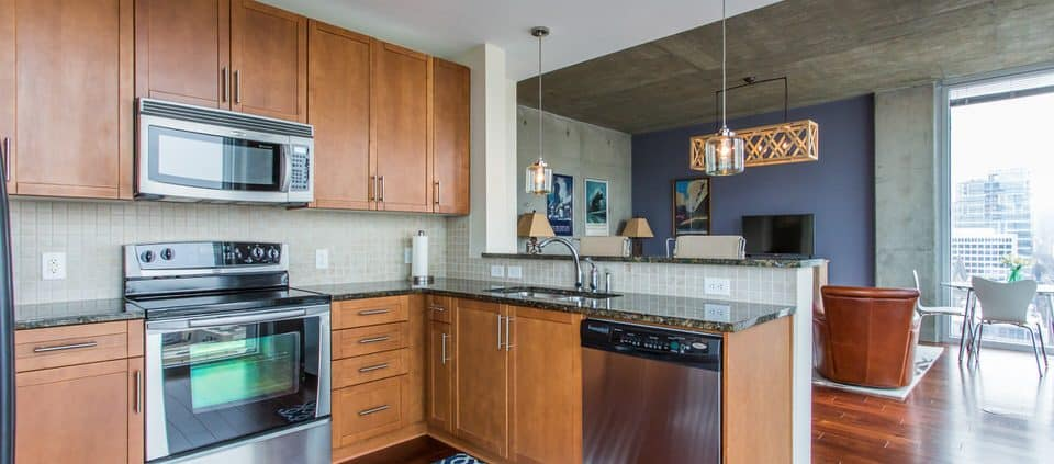 One Bedroom Condo At Viewpoint - kitchen