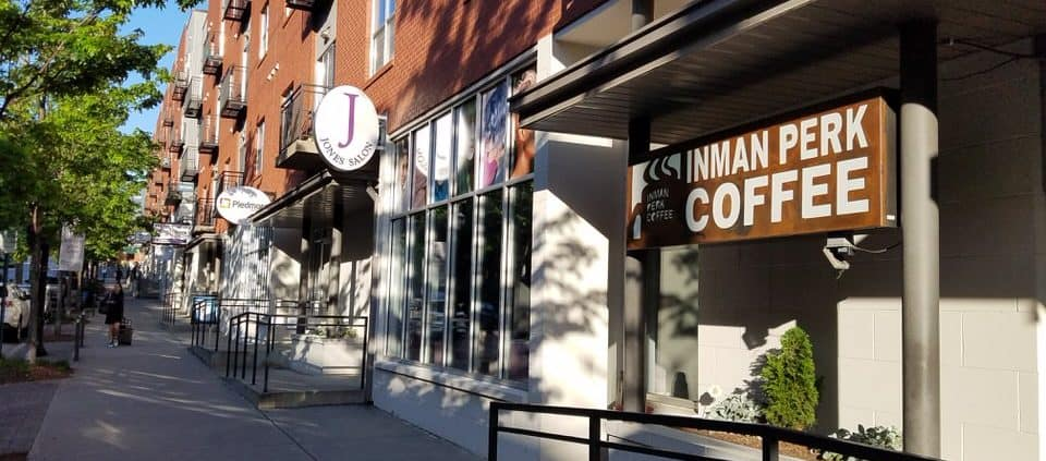 Best Atlanta Coffee Shops - Inman Perk Coffee - favorite Atlanta coffee shops