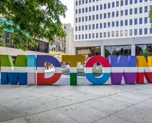 Best Walkable Atlanta Neighborhoods - Midtown Atlanta