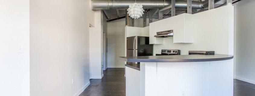 Peachtree Lofts kitchen