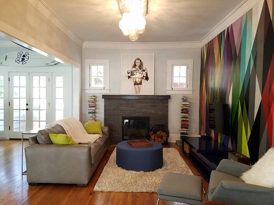 Virginia-Highland Home For Lease - Living Area