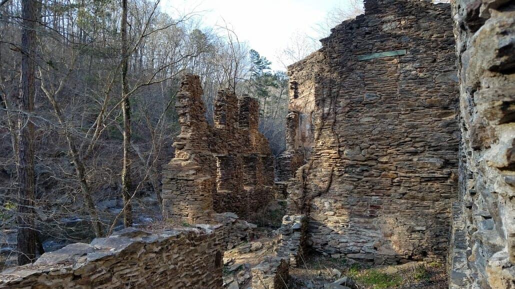 Sope Creek - hiking near Atlanta - best nature escapes