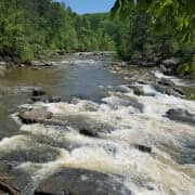 Best Nature Escapes Near Atlanta, GA - Sweetwater Creek rapids