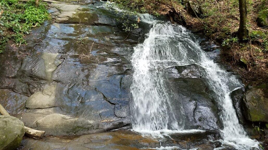 Falls Branch in Gilmer County