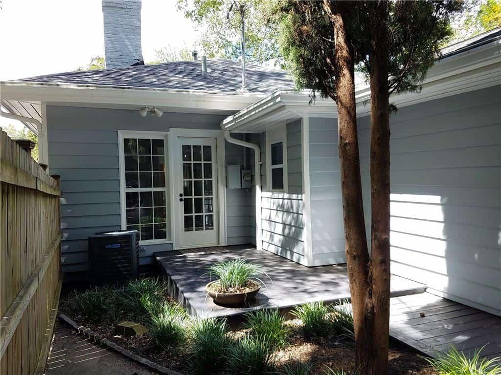 Entrance from parking - Virginia Highland bungalow for sale - 973 Todd Road, Atlanta, GA 30306